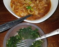 """Kimchi udon and seaweed salad<br/>                 <a href=""""/reviews/vegan-yes-east-london-98828"""">Vegan Yes - Whitechapel</a><br/> December 5, 2017"""