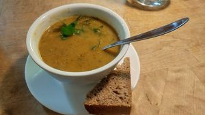 "Photo of Morgenstedet  by <a href=""/members/profile/SaraMarkic"">SaraMarkic</a> <br/>great tasty huge filling daily soup! <br/> December 5, 2017  - <a href='/contact/abuse/image/617/332631'>Report</a>"