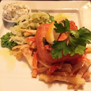 "Photo of manna cuisine  by <a href=""/members/profile/Fyeahsof"">Fyeahsof</a> <br/>chef's special - tofush and chips  <br/> January 29, 2015  - <a href='/contact/abuse/image/749/91650'>Report</a>"