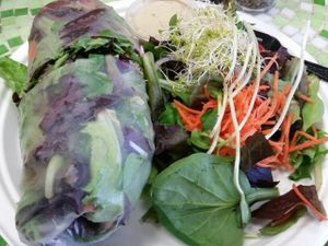 "Photo of Nature's Health Food and Cafe  by <a href=""/members/profile/eric"">eric</a> <br/>garden wrap and side salad <br/> February 24, 2017  - <a href='/contact/abuse/image/14021/230055'>Report</a>"