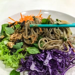 "Photo of Create Healthy Lifestyle  by <a href=""/members/profile/Sweetveganneko"">Sweetveganneko</a> <br/>Soba with generous and flavourful sauce <br/> February 8, 2018  - <a href='/contact/abuse/image/15989/356308'>Report</a>"