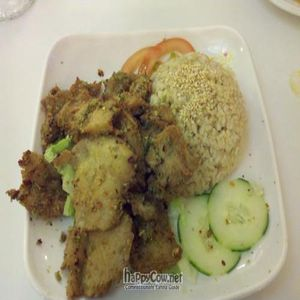 "Photo of Loving Hut - North Park Uptown  by <a href=""/members/profile/SynthVegan"">SynthVegan</a> <br/>Lemon Chicken <br/> May 24, 2011  - <a href='/contact/abuse/image/17706/8748'>Report</a>"