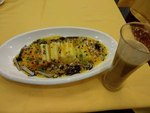 """Photo of Gongdelin Vegetarian Restaurant  by <a href=""""/members/profile/maltman23"""">maltman23</a> <br/>main dish, and kiwi juice <br/> October 29, 2017  - <a href='/contact/abuse/image/18228/319860'>Report</a>"""