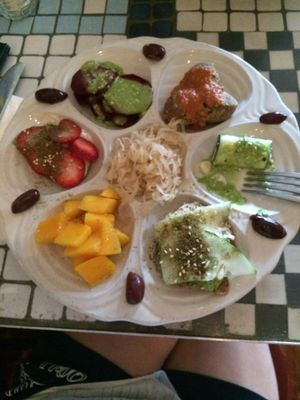 """Photo of Caravan of Dreams  by <a href=""""/members/profile/fruitiJulie"""">fruitiJulie</a> <br/>My favorite plate at Caravan of Dreams. It's hard to pick a favorite since everything is so good. This is a raw plate <br/> July 22, 2017  - <a href='/contact/abuse/image/2261/283137'>Report</a>"""