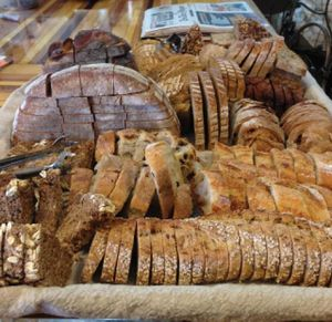 """Photo of Breads on Oak Cafe & Bakery  by <a href=""""/members/profile/comahony"""">comahony</a> <br/>Sunday complimentary breads with homemade jame and Earth Balance <br/> May 30, 2013  - <a href='/contact/abuse/image/33055/200815'>Report</a>"""