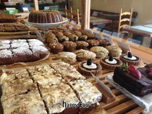 """Photo of Breads on Oak Cafe & Bakery  by <a href=""""/members/profile/comahony"""">comahony</a> <br/>Vegan desserts with carrot cake and other pastries <br/> May 30, 2013  - <a href='/contact/abuse/image/33055/48947'>Report</a>"""