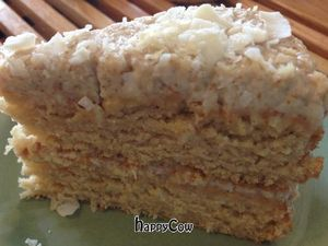 """Photo of Breads on Oak Cafe & Bakery  by <a href=""""/members/profile/comahony"""">comahony</a> <br/>Organic coconut cake with cashew coconut cream frosting <br/> May 30, 2013  - <a href='/contact/abuse/image/33055/48951'>Report</a>"""