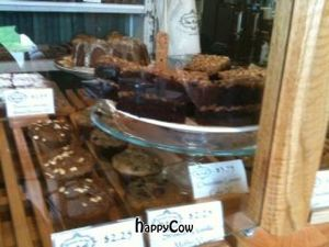"""Photo of Breads on Oak Cafe & Bakery  by <a href=""""/members/profile/greyhound989"""">greyhound989</a> <br/>Just part of the vegan choices, including the amazing chocolate cake! <br/> June 5, 2013  - <a href='/contact/abuse/image/33055/49175'>Report</a>"""