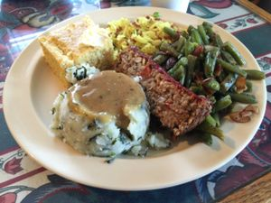 "Photo of CLOSED: Govinda's Garden Cafe  by <a href=""/members/profile/clovely.vegan"">clovely.vegan</a> <br/>Thanksgiving! <br/> November 26, 2015  - <a href='/contact/abuse/image/33346/126243'>Report</a>"