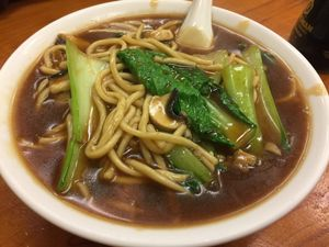 "Photo of Aunty Mena's  by <a href=""/members/profile/Tiggy"">Tiggy</a> <br/>Hokkien Mee $14 - Rich and tasty <br/> January 10, 2018  - <a href='/contact/abuse/image/3540/345108'>Report</a>"
