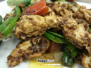 """Photo of CLOSED: Ovo - Simply Veggie  by <a href=""""/members/profile/community"""">community</a> <br/>Soy Protein Sarcha BBQ <br/> July 1, 2013  - <a href='/contact/abuse/image/36259/50593'>Report</a>"""