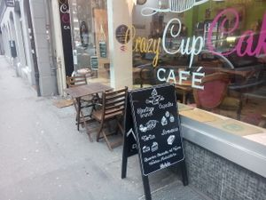 "Photo of Crazy CupCake Cafe  by <a href=""/members/profile/Luzern"">Luzern</a> <br/>View from outside <br/> March 28, 2017  - <a href='/contact/abuse/image/50467/242143'>Report</a>"
