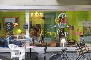 "Photo of Crazy CupCake Cafe  by <a href=""/members/profile/hitomiie"">hitomiie</a> <br/>View from the street <br/> May 15, 2017  - <a href='/contact/abuse/image/50467/259040'>Report</a>"