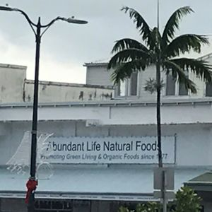 "Photo of Abundant Life Natural Foods  by <a href=""/members/profile/Sarah%20P"">Sarah P</a> <br/>front sign facing waterfront <br/> January 5, 2017  - <a href='/contact/abuse/image/5307/208304'>Report</a>"
