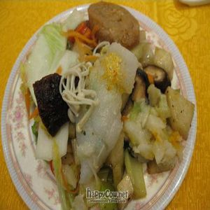 "Photo of Light Vegetarian Restaurant  by <a href=""/members/profile/cvxmelody"">cvxmelody</a> <br/>Plate of food from buffet <br/> January 13, 2011  - <a href='/contact/abuse/image/5956/7018'>Report</a>"