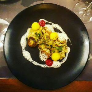 """Photo of Etnosvet  by <a href=""""/members/profile/Moonshine"""">Moonshine</a> <br/>vegan mushroom scallops and leek <br/> August 17, 2017  - <a href='/contact/abuse/image/63181/293676'>Report</a>"""