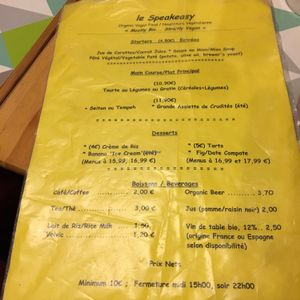 """Photo of CLOSED: Le Speakeasy  by <a href=""""/members/profile/dr6633"""">dr6633</a> <br/>menu <br/> October 13, 2016  - <a href='/contact/abuse/image/7291/181918'>Report</a>"""