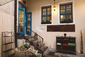 """Photo of CLOSED: Food of Love  by <a href=""""/members/profile/Foodoflove"""">Foodoflove</a> <br/>Cosy heated courtyard <br/> October 16, 2016  - <a href='/contact/abuse/image/81540/182503'>Report</a>"""