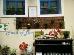 """Photo of CLOSED: Food of Love  by <a href=""""/members/profile/Doruks"""">Doruks</a> <br/>Outside decoration  <br/> April 23, 2017  - <a href='/contact/abuse/image/81540/251518'>Report</a>"""